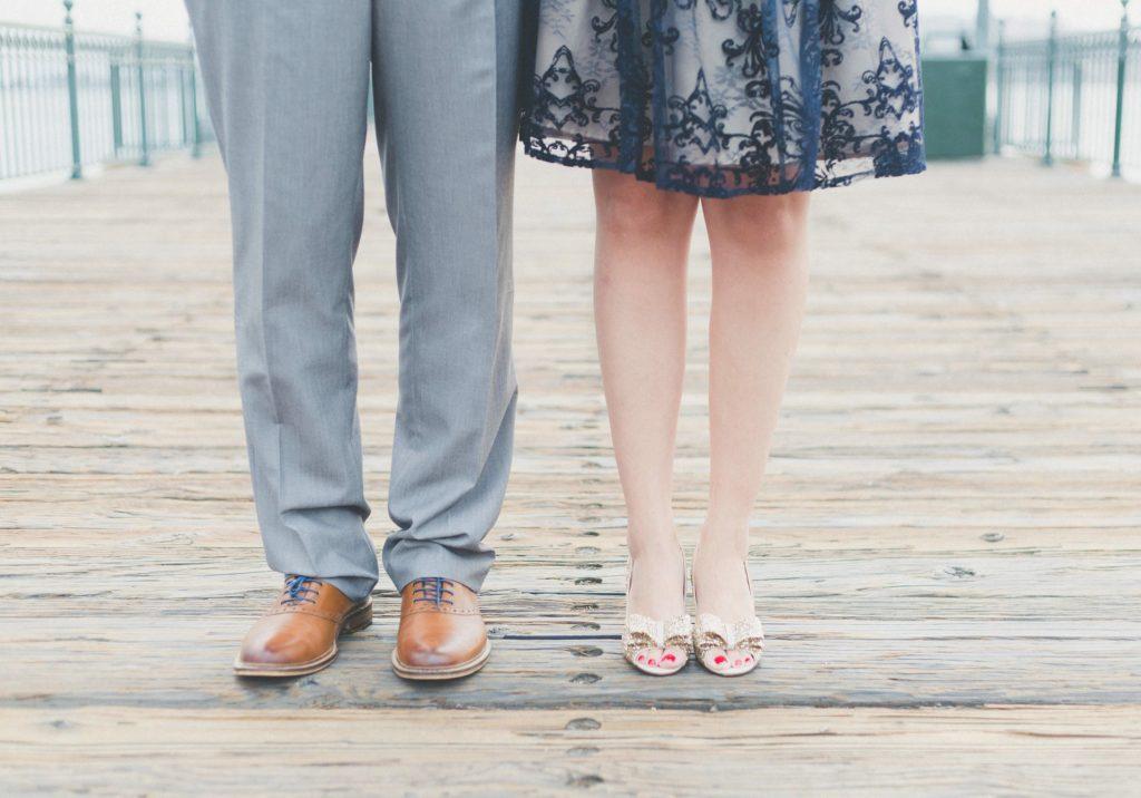 couple, feet