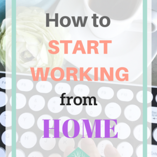 Work at home guide: How to start working from home