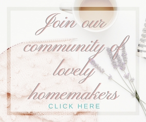 join a calming home homemakers facebook group