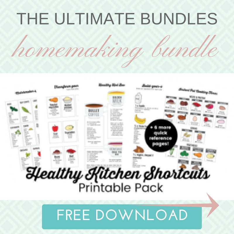 Ultimate Bundles homemaking bundle free download