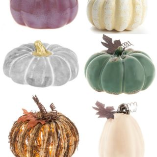 Affordable Pumpkin Decorations (all under $20!)