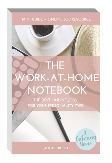 The work at home notebook
