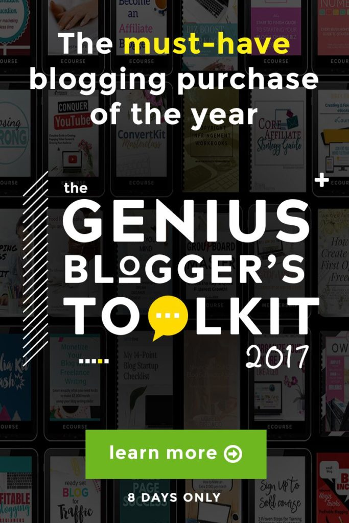 Ultimate Bundle Genius Bloggers toolkit 2017