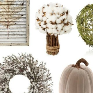 Neutral Colors for Fall Home Decor