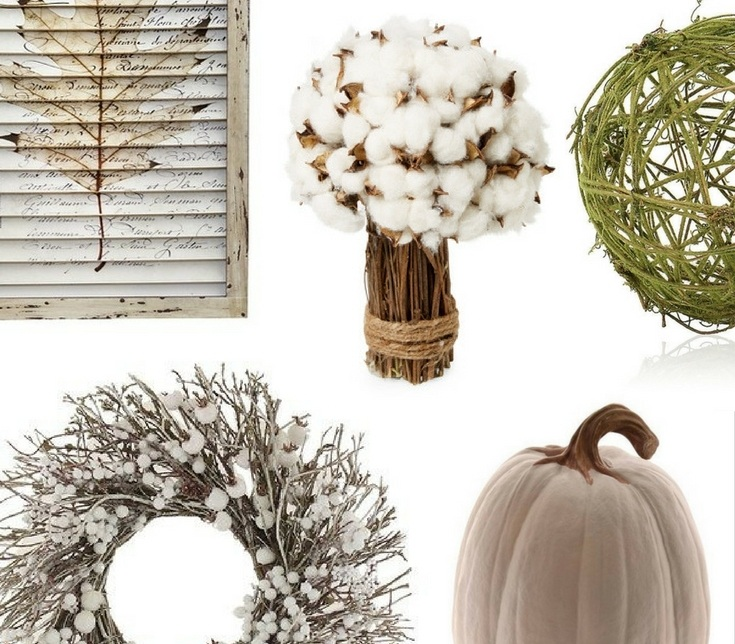 Neutral colors for fall home decor - Copy