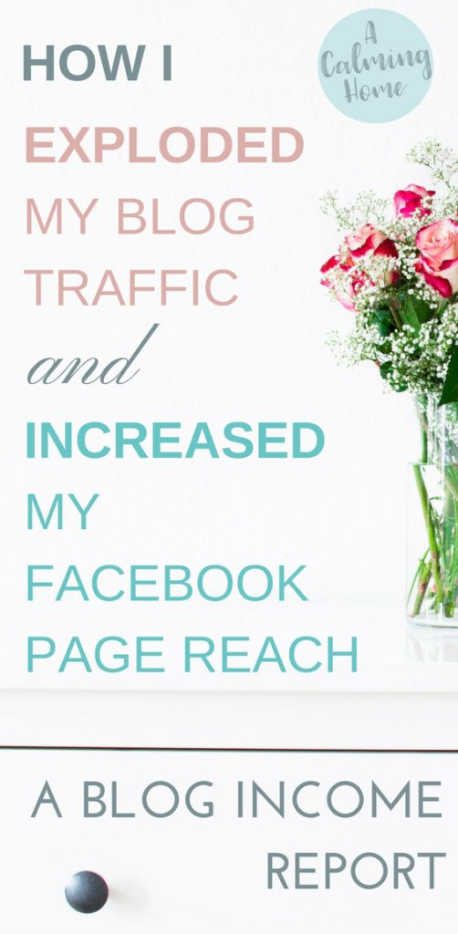 This blog income reports how increased my blog traffic and improved my facebook page reach