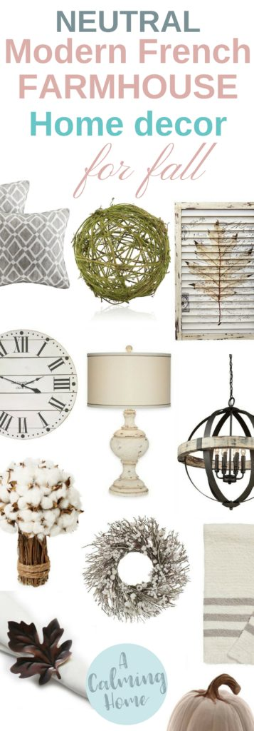 neutral colors for modern french farmhouse home decor
