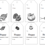 Free Printable Vintage Thanksgiving Gift Tags